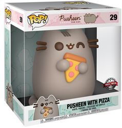 Figura vinilo Pusheen with Pizza (Life Size) 29