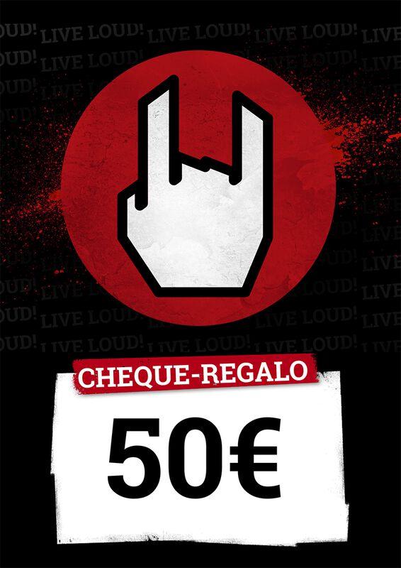 Cheque Regalo 50,00 EUR