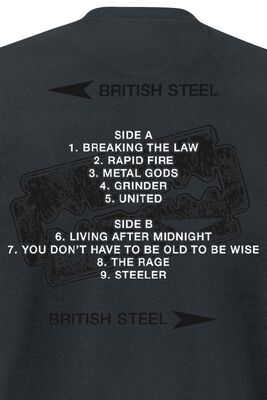 British Steel Album Tracklist