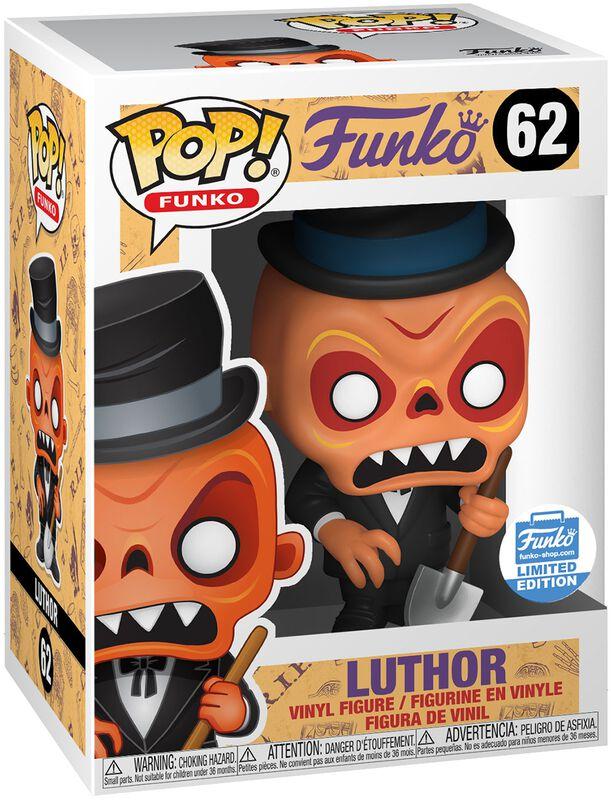Fantastik Plastik Figura Vinilo Luthor (Funko Shop Europe) 62