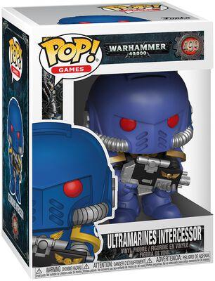 Warhammer 40,000 Figura Vinilo Ultramarines Intercessor 499