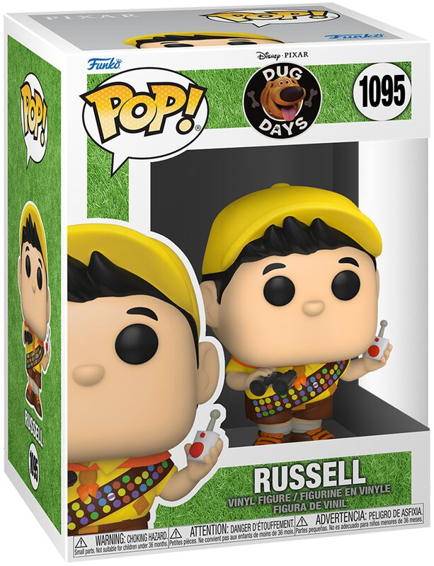 Figura vinilo Russel 1095