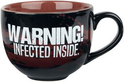 Infected - Taza Cappuccino