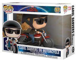 Figura Vinilo Carol Danvers on Motorcycle Pop Rides 57