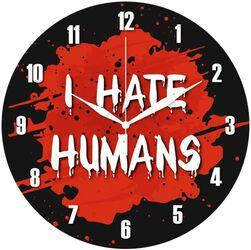 Reloj para la Pared I Hate Humans