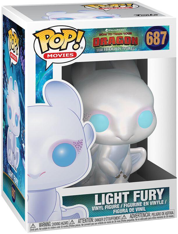 Figura Vinilo 3 - Light Fury 687