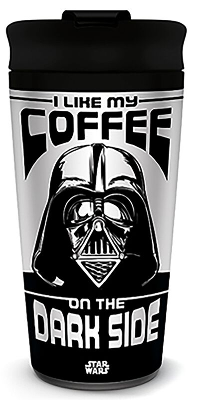 I Like My Coffee On The Dark Side