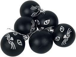 Cat Seis bolas de navidades