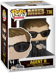 Figura Vinilo International - Agent H 738