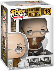 Figura Vinilo Benjamin Franklin 13