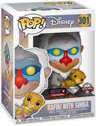 Rafiki with Simba (Glitter) Figura Vinilo 301