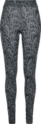 Ladies AOP Hibiscus Leggings