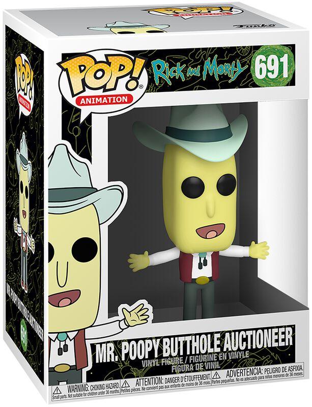 Figura Vinilo Season 4 - Mr. Poopy Butthole Auctioneer 691
