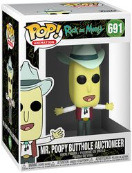 Figura Vinilo Season 4 - Mr. Poopy Butthole Auctioneer 691