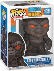 Figura vinilo Kong With Battle Axe 1021