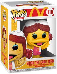 Mc Donalds Figura vinilo Birdie The Early Bird 110