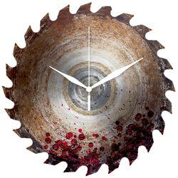 Reloj para la Pared Hoja  de Sierra con Sangre