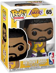 Figura Vinilo Los Angeles Lakers - Anthony Davis 65