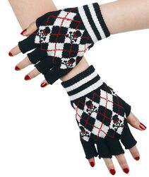 Tartan Fingerless Gloves