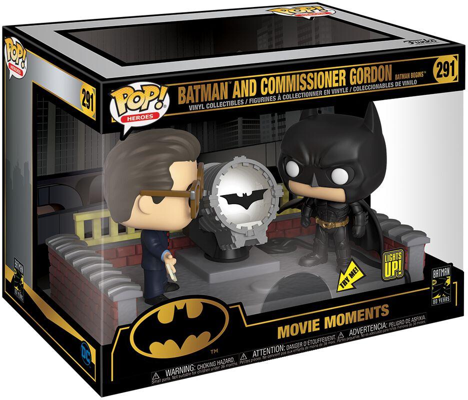 Figura Vinilo 80th - Batman and Commissioner Gordon (Movie Moments) 291