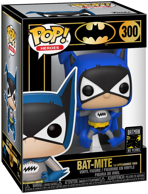Figura Vinilo 80th - Bat-Mike 1st Appearance (1959) 300