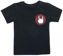 Camiseta negra con logo