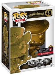 Figura Vinilo Lemmy Kilmister Rocks (Gold) 49