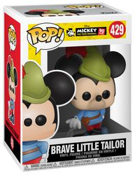 Figura Vinilo Mickey's 90th Anniversary - Brave Little Tailor Mickey 429