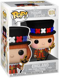Figura vinilo It's A Small World - England 1074