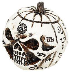 Pumpkin Skull: Miniature Skull