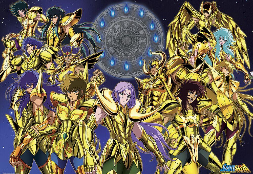 Gold Saints 1