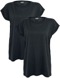 Ladies Extended Shoulder 2 Pack