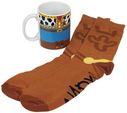 Woody - Taza con calcetines