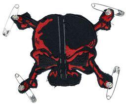 Patch: Red-Black Skull