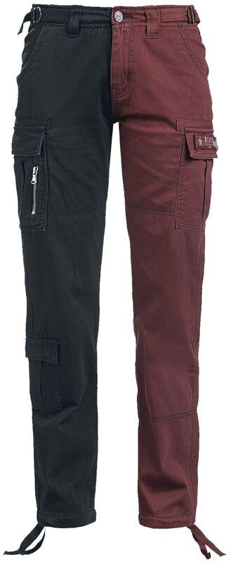 Pantalones cargo dos colores