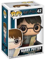 Figura Vinilo Harry Potter con Mapa del Merodeador 42