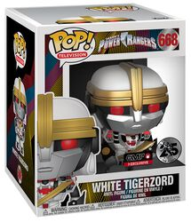 Power Rangers Figura Vinilo White Tigerzord (Oversized) 668