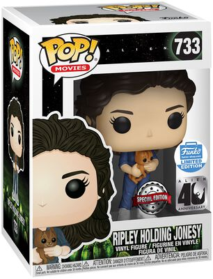 40th - Ripley Holding Jonesy (Funko Shop Europe) Figura Vinilo 733