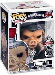 Power Rangers Figura Vinilo Pudgy Pig 664