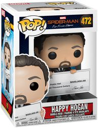 Figura Vinilo Far From Home - Happy Hogan 472