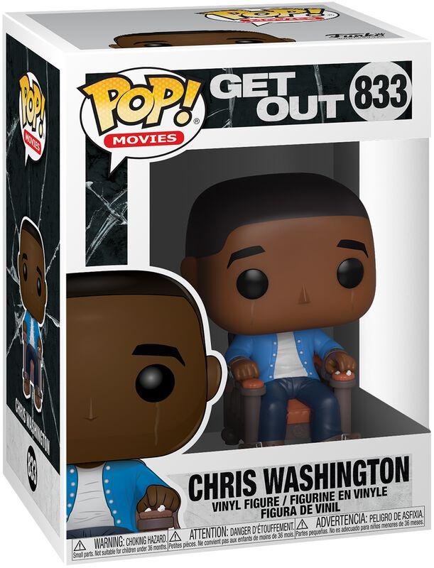 Figura Vinilo Chris Washington 833