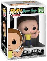 Figura Vinilo Sentient Arm Morty (posible Chase) 340