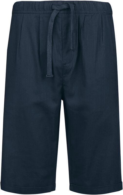 Pantalón corto azul oscuro de ligero material