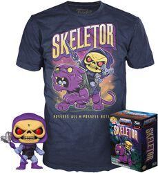 Skeletor - POP! & Camiseta (Glow in the Dark)