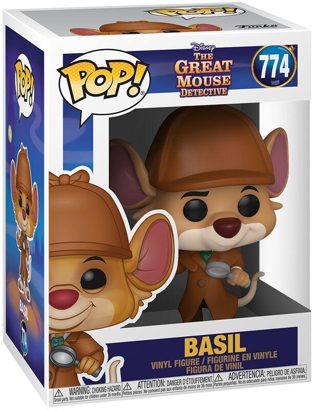Basil the Great Mouse Detective Figura vinilo Basil 774