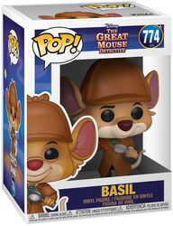 Basil the Great Mouse Detective Figura vinilo Basil 774