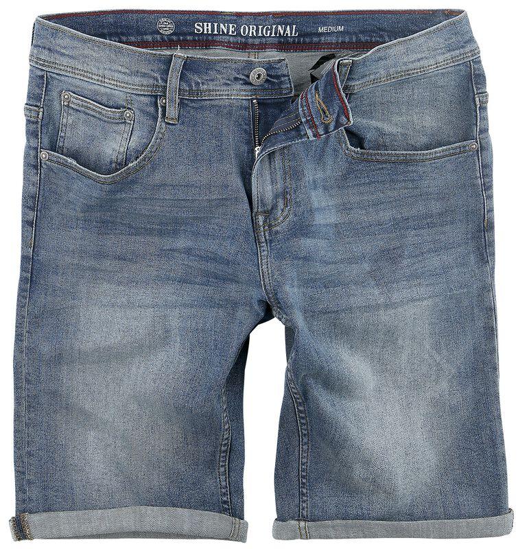 Regular Fit Denim Shorts Motor Blue