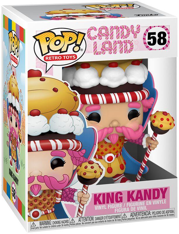 Figura vinilo King Kandy 58