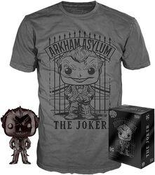 Chrome Joker POP! & Camiseta