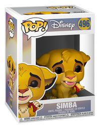Figura Vinilo Simba 496